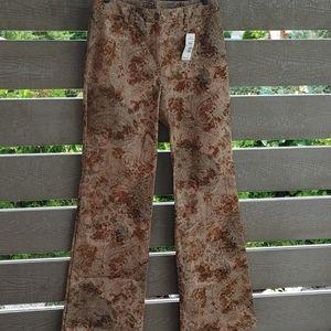 Tristan & Iseut women's Floral Pant size 6